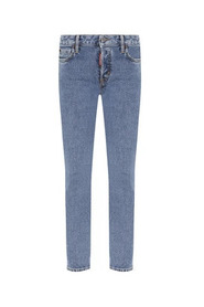 Cropped fit jeans