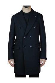 DOUBLE-BREASTED COAT WITH POCKETS-PATT-TIKET OUTERWEAR 2