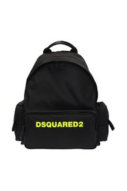 Logo-printed backpack