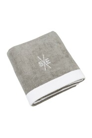 Cotton towel with logo