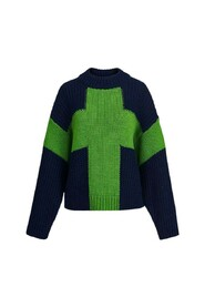 Sweater With Cross