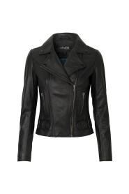 Jacket Vika Black Leather