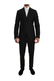 Wool Two Button Slim Fit Blazer Suit
