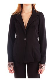 FRACOMINA FR19FP063 Jacket Women BLACK
