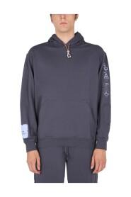 Sweatshirt With Embossed Detail