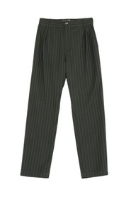 Tapered Trousers Stripe