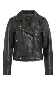 Leather jacket Biker look