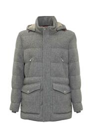 Parka with Zip and Hood