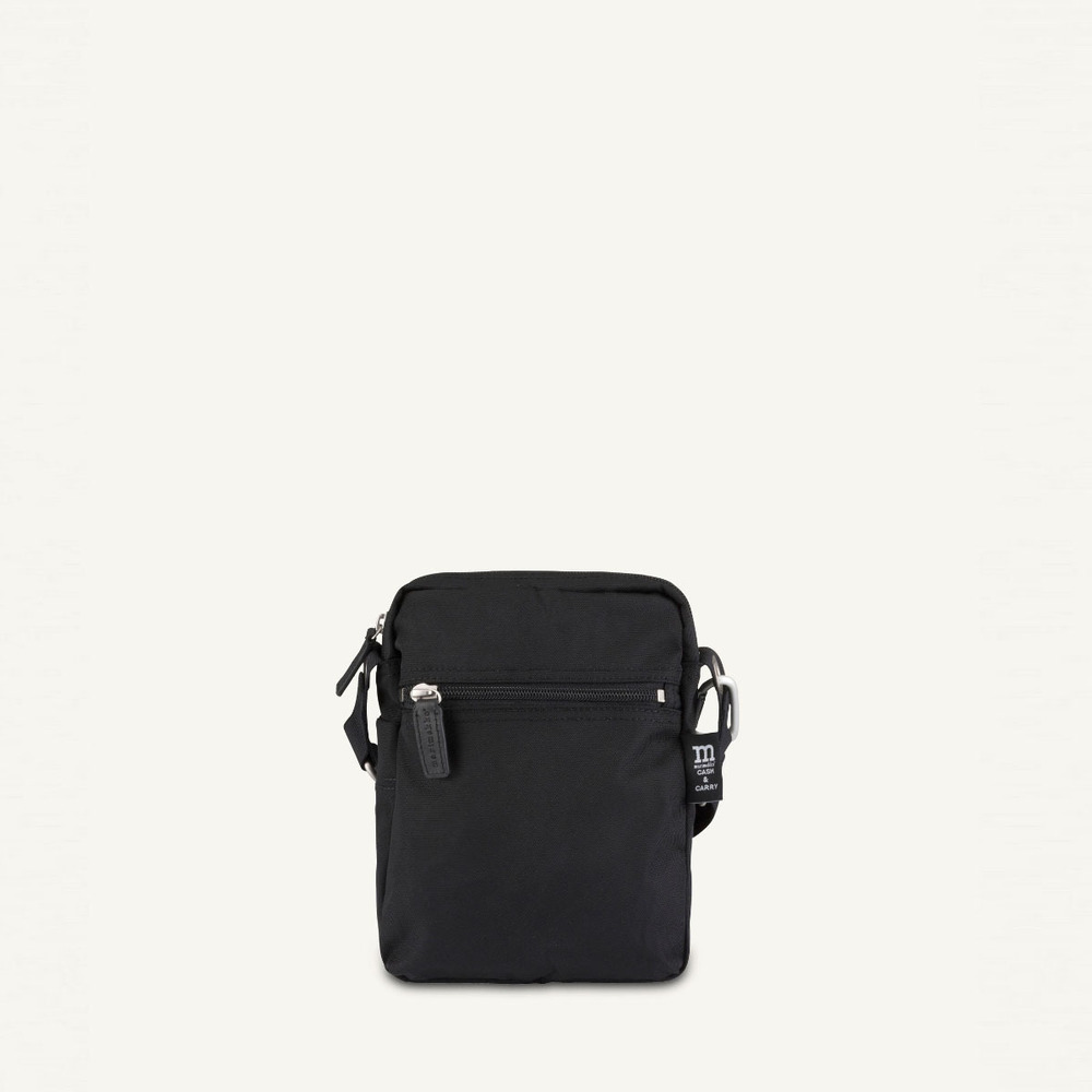 Black Cash  Carry Bag | Marimekko | Schoudertassen | Herentassen