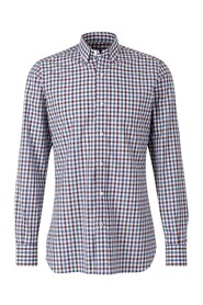Cotton checkered shirt