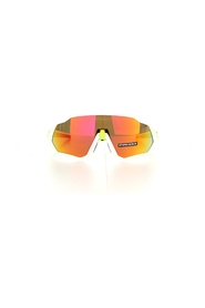 Oakley 9401 Sun glasses Unisex White / prizm Ruby