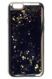 IPHONE COVER BLACK MIX W/SILVER EDGE