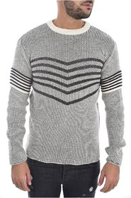 Pull laine bicolore 1259