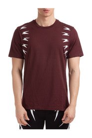 short sleeve t-shirt thunderbolt