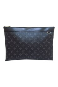 Pre-owned Monogram Eclipse Discovery Pochette Canvas