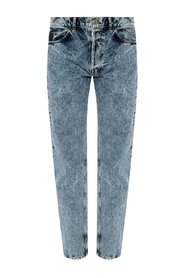 Textured jeans