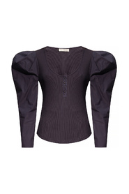 Joanne top with puff sleeves