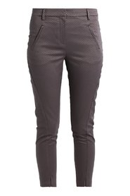 FiveUnits pantalon model Angelie split kleur purple grey grid