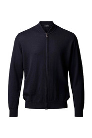Merino Zip Cardigan Sweaters And Knitwear