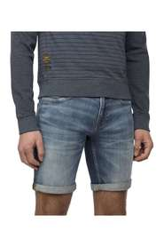 Short stretch denim mid