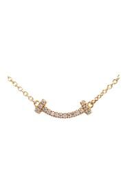 Smile Mini Diamond Pink Gold (18K) Pendant