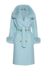 Chic cashmere coat