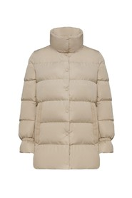 DOWN JACKET WITH DETACHABLE COLLAR