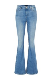 PCDELLY DLX FLARED JEANS LB124-B: