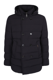 Florio double-breasted padded coat