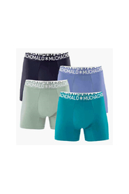 Muchachomalo 4-Pack Boxershorts Men Dubble Blue-S