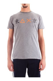 SUN 68 T29120 T-SHIRT Men DARK GRAY