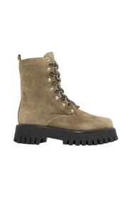 lace-up chunky sole boots