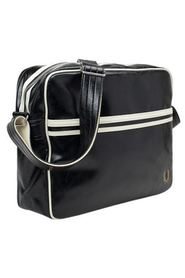 FRED PERRY Shoulder Bag Black/Ecru