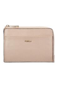 women's genuine leather credit card case holder wallet babylon
