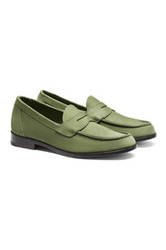 Buxton Penny Loafer Nubuck