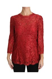 3/4 Sleeve Cordonetto Lace Top
