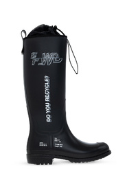 Rain boots with logo