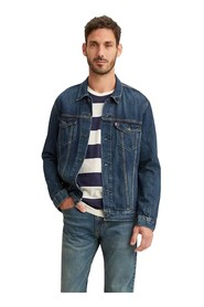 LEVIS 72334 THE TRUCKER JACKET JACKET AND JACKETS Men DENIM MEDIUM BLUE