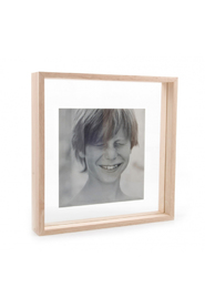 Floating Box Frame - Timber - 13 x 18 cm