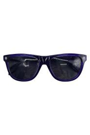 skull detail frame sunglasses