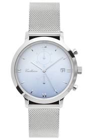 Adler XI Sunray Silver 42mm Mesh - Watch