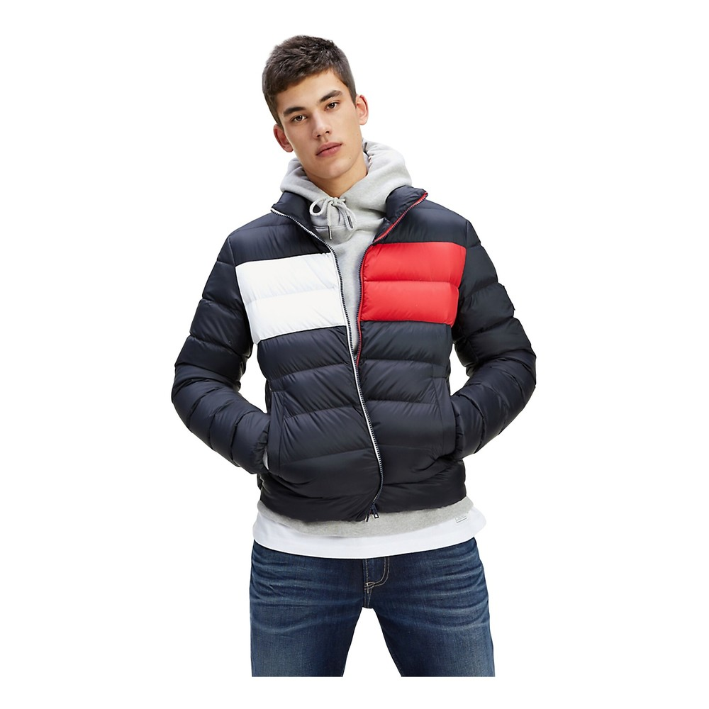 Tommy Jeans Dm0Dm07364 Essential Down Jacket AND Jackets Men Tommy black