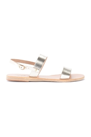 Clio sandals in leather
