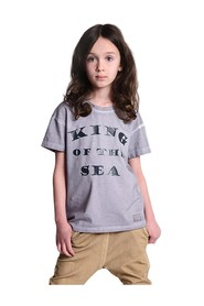 T-Shirt King of the sea gray