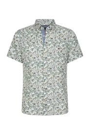 SLIM PALM TREE PRINT shirt