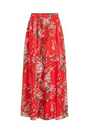 Maxi rok High waist bloemenprint