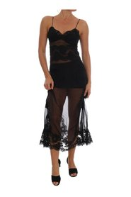 Silk Lace Chemise Dress