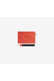 Fake leather clutch red - Alix the label