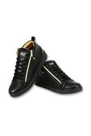 Heren Sneaker Bee Black Gold V2- CMS98