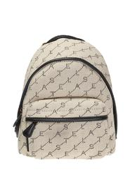 'Monogram' backpack with logo